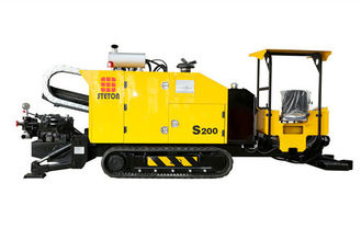 Powerful Horizontal Directional Drilling Machine Fast Travelling And Tracking Speed